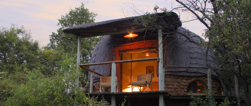 Dreams are made of this - the thatched 'rondavels' at Isibindi Zulu Lodge