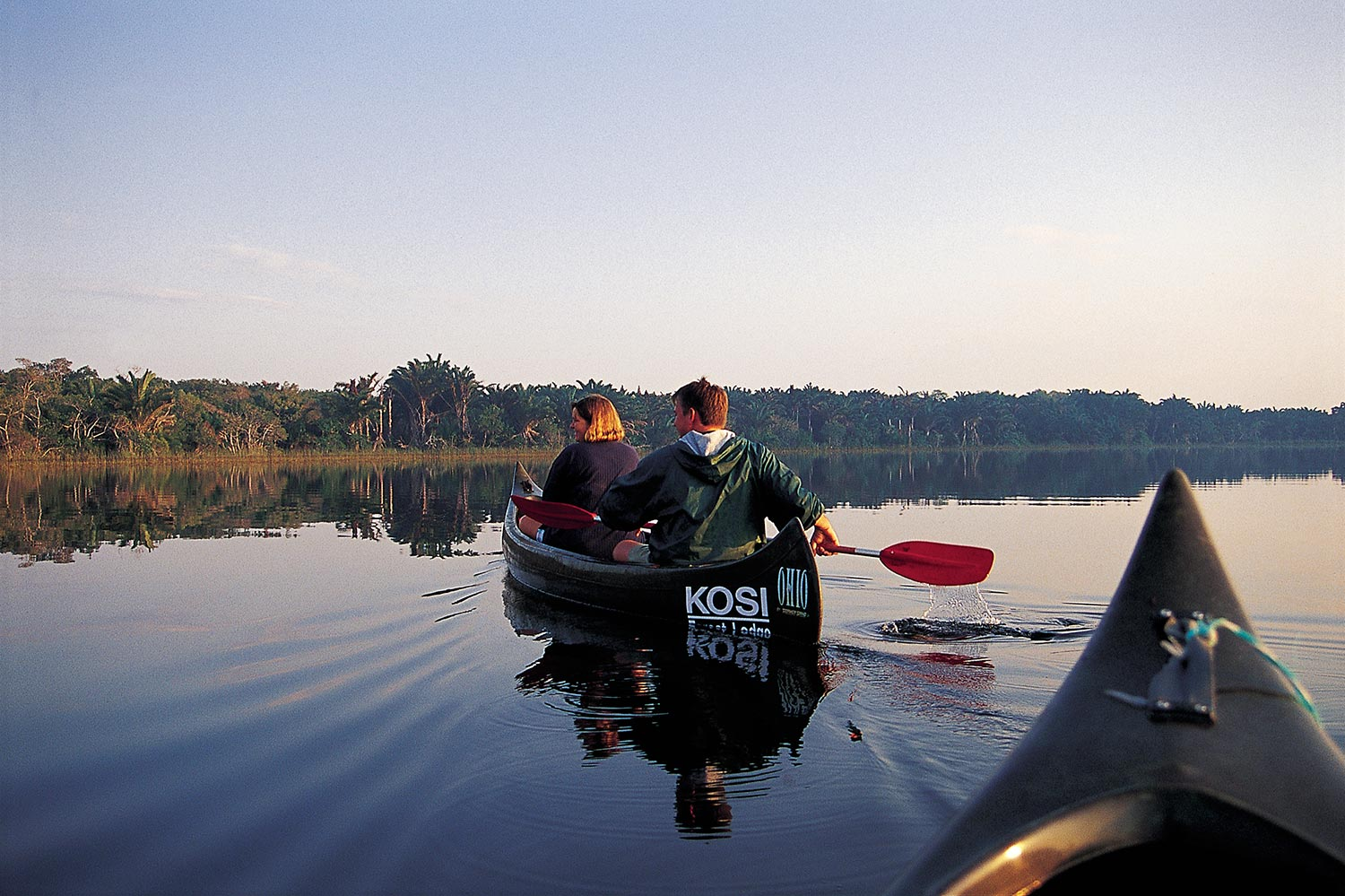 Canoeing At Kosi