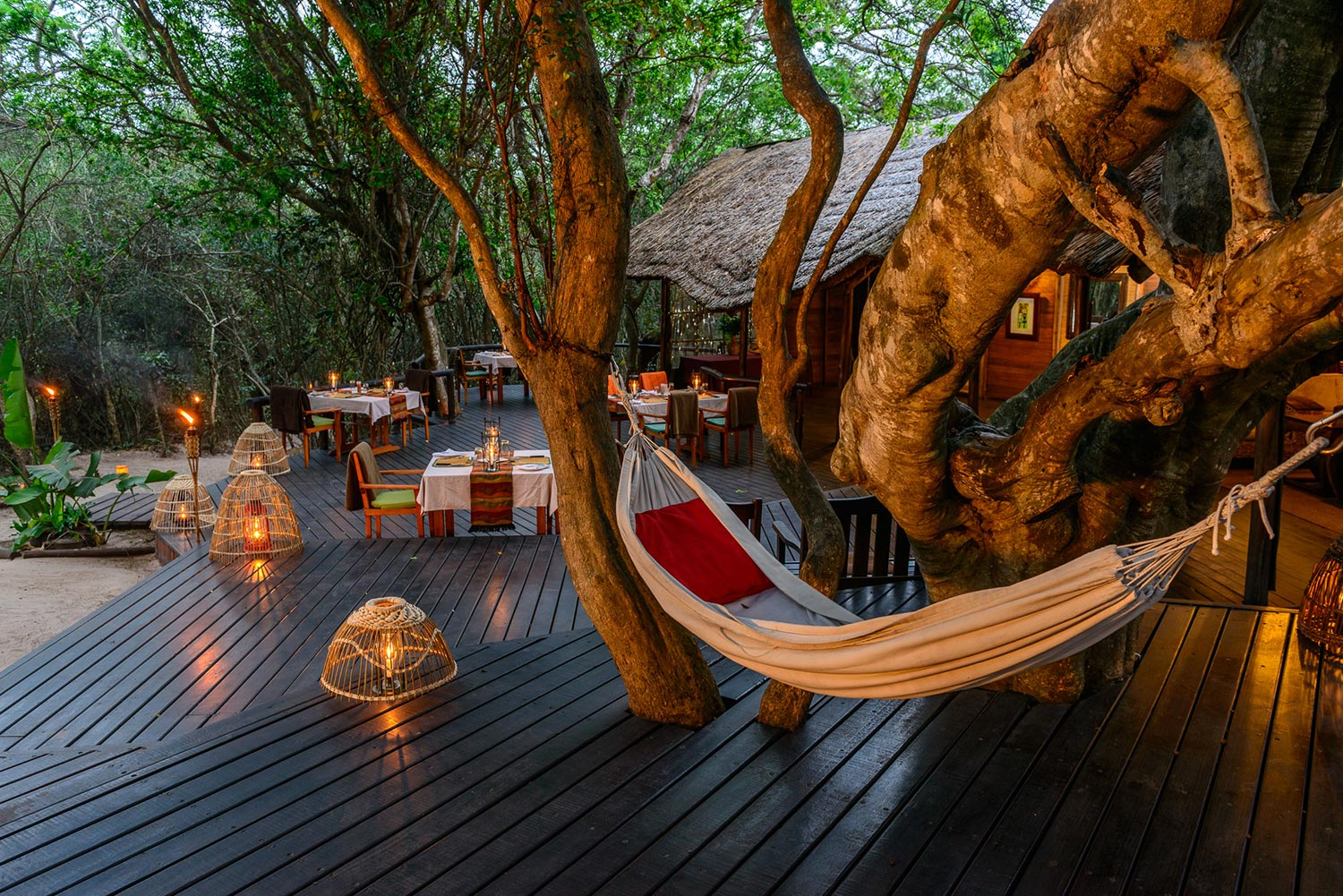 Accommodation in Isimangaliso Main Lodge at Kosi Forest