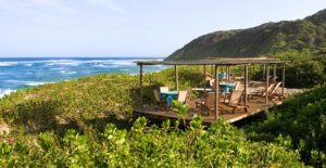 Luxury Beach Lodge - Beach Deck