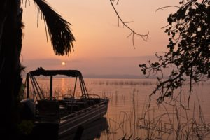 Explore the Kosi lakes by boat