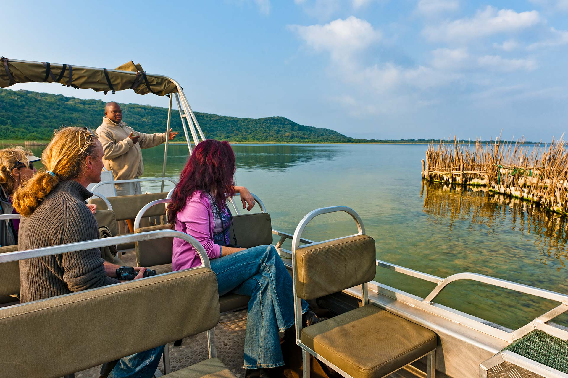 Boat Trips on the Lake at Kosi Forest Lodge