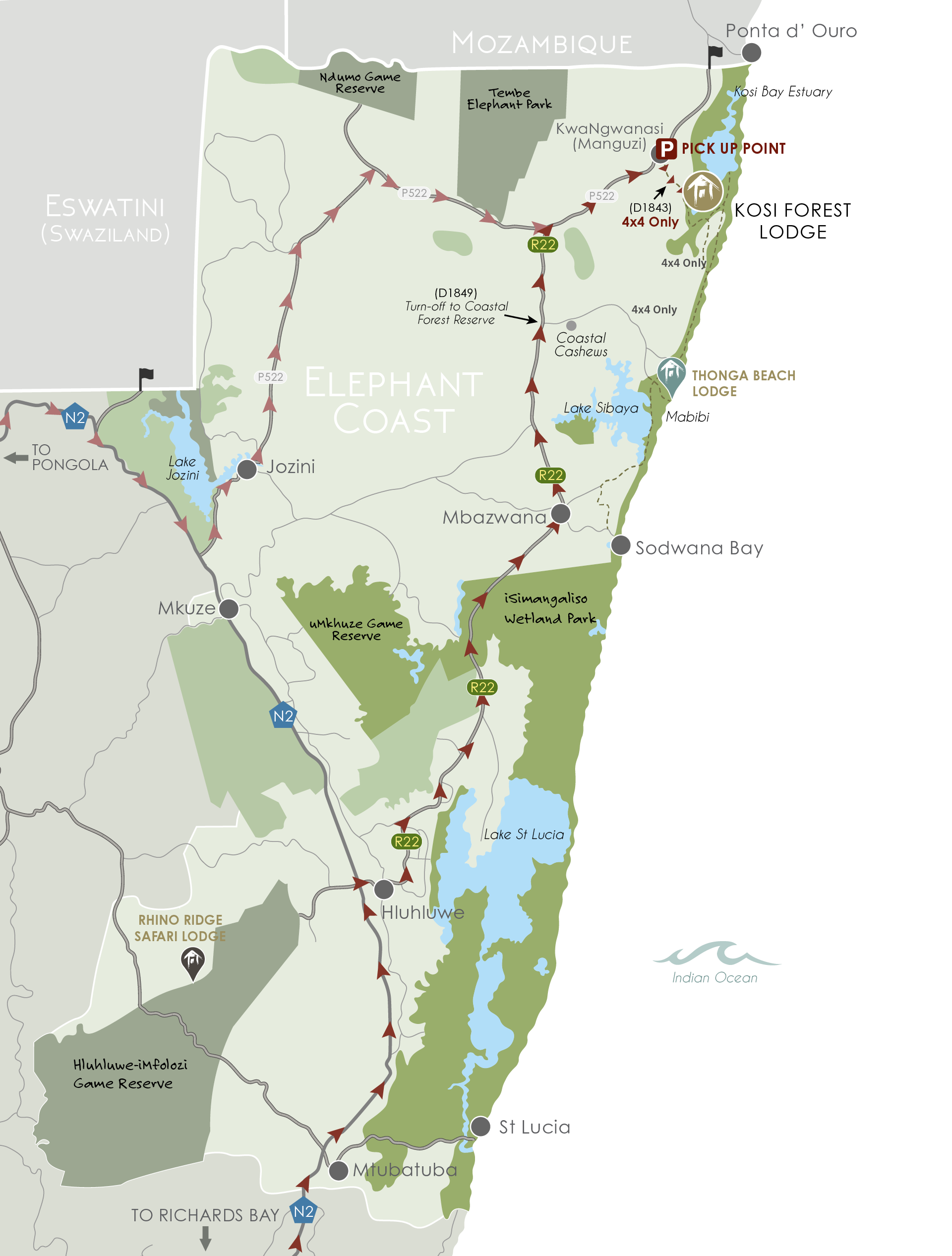 IAL MAPS - iSimangaliso_KFL Website